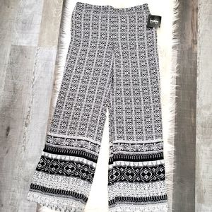 By&by wide leg palazzo pants